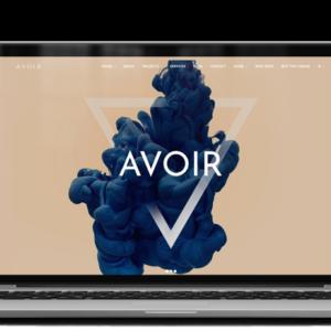 Avoir WordPress theme by PlethoraThemes