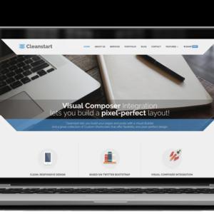 Cleanstart WordPress theme by Plethora Themes