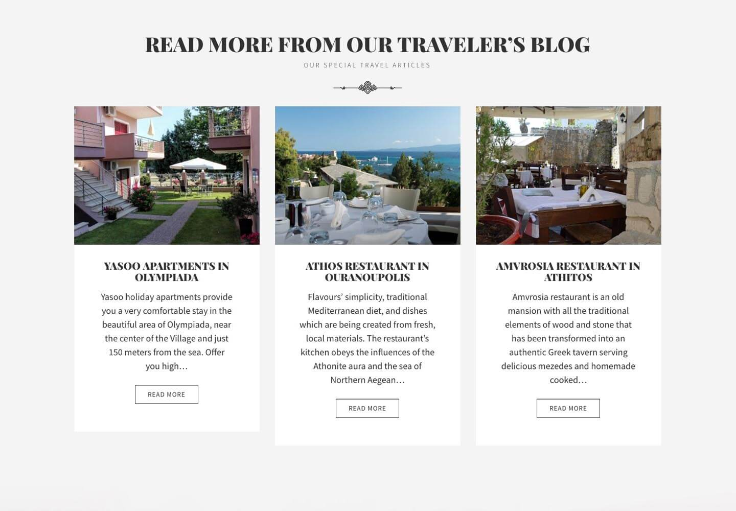 Hotel Xenia WordPress theme implementation