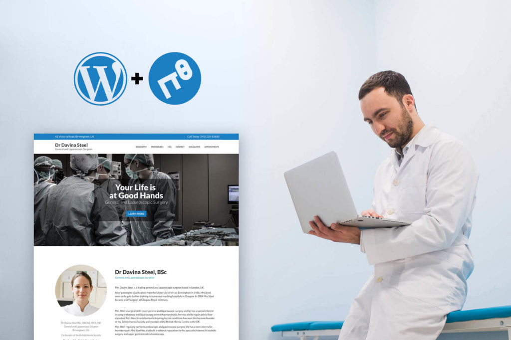Create a WordPress Landing page in under 30 minutes using a premium WordPress theme