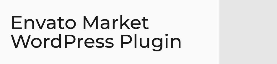 Envato Market - Themes' Plugins